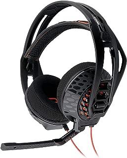 Plantronics Rig 505 Lava Stereo Gaming Headset - Black (Renewed)