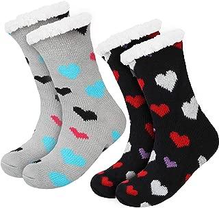 Calzini da donna super morbidi con suola in ABS caldi e confortevoli Fenside Country Clothing Socks Uwear
