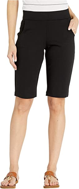 Dee Dee Pull-On Ponte Shorts