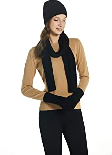 100% Cashmere Winter Scarf in Solid Colors with Gift Box for Women