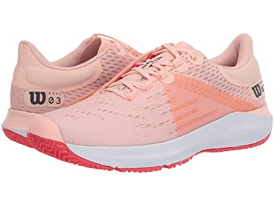 Wilson Kaos 3.0 (Tropical Peach/White/Cayenne) Women