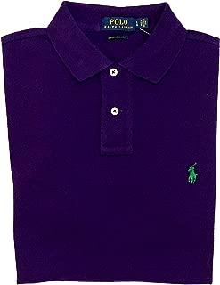 Mens Custom Slim Fit Mesh Polo Shirt