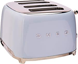 Smeg 4 Slot Toaster Pastel Blue TSF03 PBUS