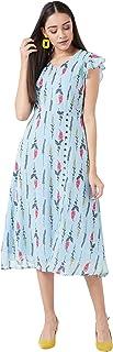 Miss Olive Georgette a-line Dress
