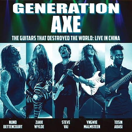 Steve Vai - Generation Axe: Guitars That Destroyed That World (2019) LEAK ALBUM