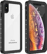 OUNNE iPhone Xs Max Waterproof Case, Underwater Full Sealed Cover IP68 Dustproof Snowproof Shockproof Phone Case for iPhone Xs Max (Clear)