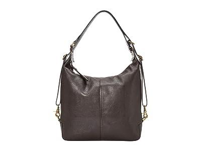 Frye Gia Convertible Backpack (Espresso) Backpack Bags