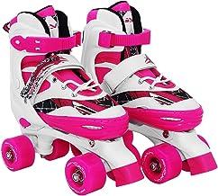SportVida Rolschaatsen voor kinderen en volwassenen, in grootte verstelbaar 31-34 35-38