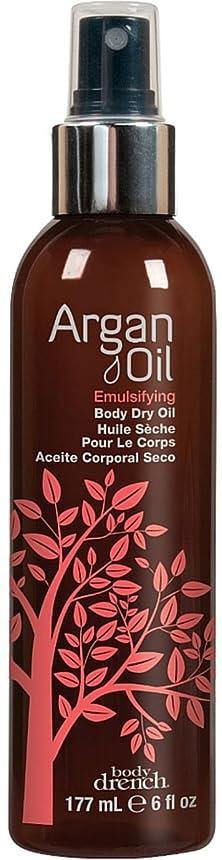 毒液粒ラフArgan Oil Body Emulsifying Dry Oil 177 ml (並行輸入品)