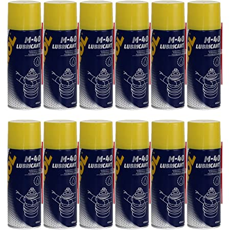 Mannol 12 X 450ml 9899 M 40 Multifunktion Kriechöl Rostlöser Multifunktionspray Auto