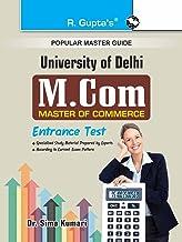 Delhi University (DU) M.Com Entrance Test Guide (Popular Master Guide)