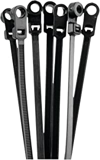 Install Bay BMCT11 Black Mount Cable Tie 11-Inch, 50-Pound (100-Pack)