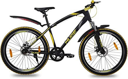 99ff62609ed Huge HDT-50 Single Speed 26T Bicycle with Front and Rear Bolted Type Disc  Brake