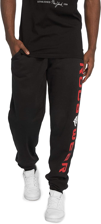 Männer Rocawear Jogginghose B07NCW8DGR wild Fein rot schwarz