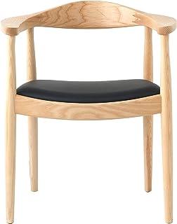 北欧 ダイニングチェア ハンスウェグナー リプロダクト The Chair ザ・チェア フィンガージョイント 北米産アッシュ材 艶なし マット仕上げ ナチュラル ダイニング イス 無垢