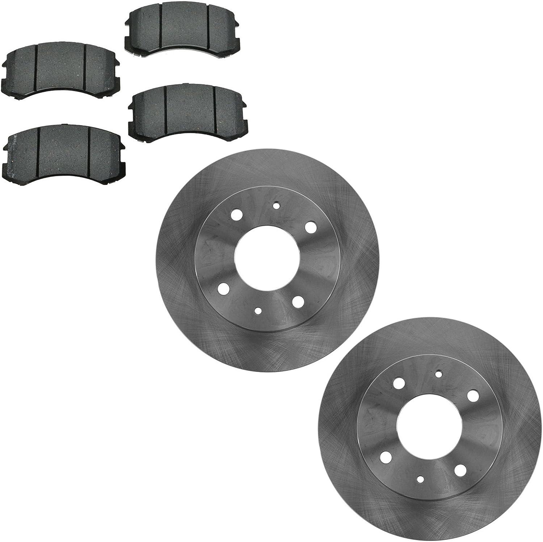 Front Brake 70% OFF Outlet Rotor Semi Metallic for latest Kit Pad L Mitsubishi