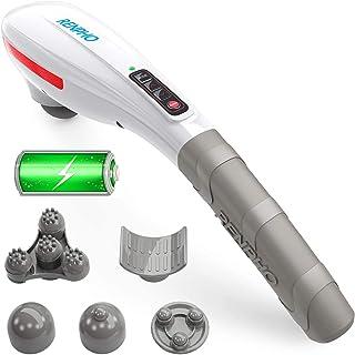 Massager Handheld, RENPHO Back Massager Deep Tissue Muscle Massager voor Nek, Rug, Schouder, Voet, Been, Kalf Pijn Relief,...