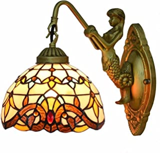 6 Inch Modern Stained Glass Wall Lamp High Quality