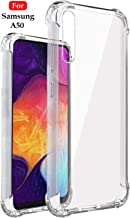 Jkobi Rubber Back Cover for Samsung Galaxy A50 / Galaxy A50s -Transparent