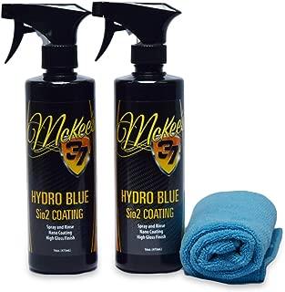 McKee's 37 MK37-630-2PK Hydro Blue Sio2 Coating, 16 fl. oz, 2-Pack, 32. Fluid_Ounces