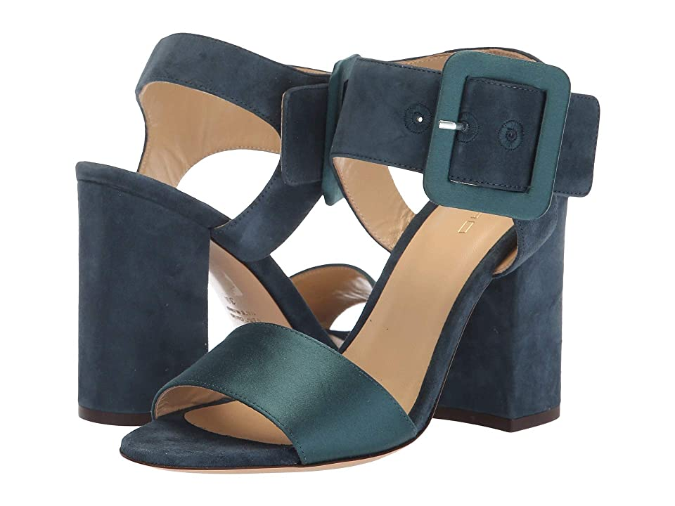Etro Satin Sandal (Blue) Women