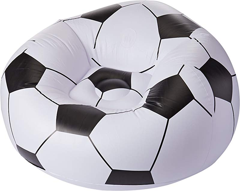 UP IN OVER Soccer Ball Inflatable Chair