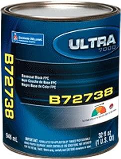 Auto Paint Pro Sherwin Williams Ultra B72738 Factory Packaged QT BaseCoat True Black