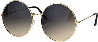 Classic Oversize Joplin Style Hippie Round Circle Lens Sunglasses