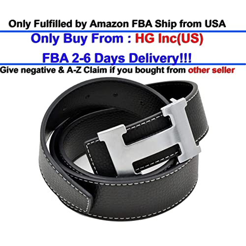 d860d486f HG-products H-Style unisex Business Casual Belt [3.8CM]
