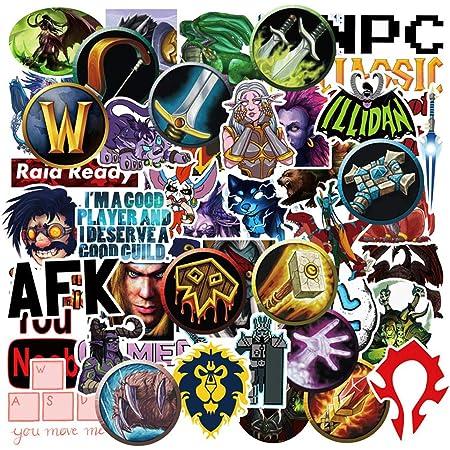 Fan Art World of Warcraft Horde Logo Vinyl Decal Vinyl stikcer You Choose Size /& Color