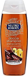 Neutro Roberts Doccia Shampoo Energizzante con Cedro e Zenzero, Profumo Aromatico, Ottimo per Detergere Corpo e Capelli, S...