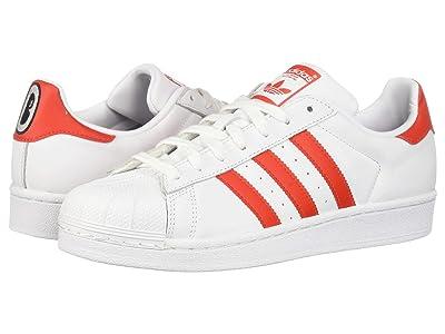 adidas Originals Superstar W (Footwear White/Active Red/Core Black) Women