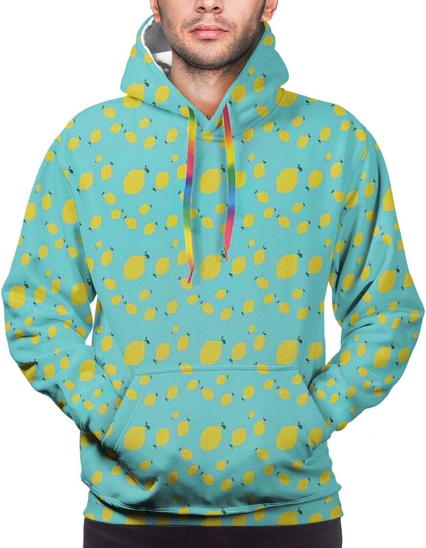 Men's Hoodies Sweatshirts,Minimalist Tones Deformed Circles Background Contemporary Style Artsy Pattern