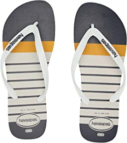 43f14a9101f White White. 12. Havaianas. Top Nautical Flip-Flops