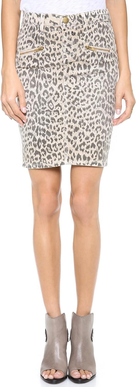 Current/Elliott Women's The Soho Zip Stiletto Pencil Skirt