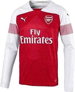 PUMA 2018-2019 Arsenal Home Long Sleeve Football Soccer T-Shirt Jersey