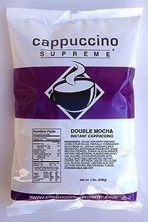 Cappuccino Supreme 2 lb bag Double Mocha Instant Cappuccino Mix
