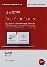 WebAssign Printed Access Card for Larson/Edwards' Calculus, Multi-Term