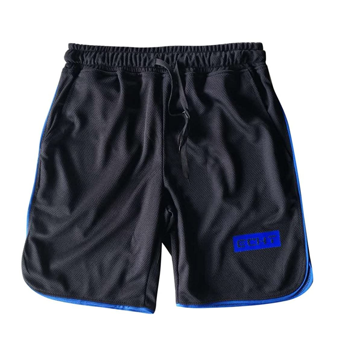 Farmerl Men's Shorts Gym Athletic Training Cycling Workout Fitness Short Pants