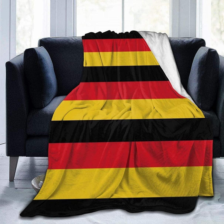 Germans Flag Brand new Fleece Blanket Lightweight Super Bargain sale Soft