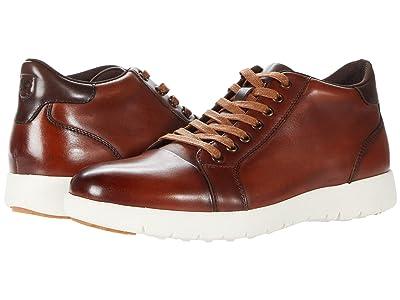 Stacy Adams Harlow Mid-Sneaker (Cognac) Men