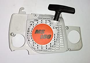 MowerPartsGroup Chainsaw Starter Recoil Fit Stihl MS180 MS180C MS170 017 018 Chain Saws Replaces 1130 080 2100