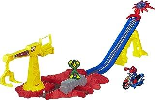 Playskool Heroes Marvel Super Hero Adventures Spider-Man Crane Capture Track Set (Renewed)