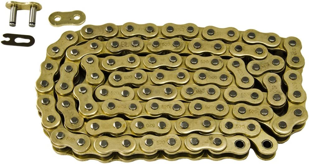Yellow Non O-Ring Chain 520-92L fits 1988-2006 fits Yamaha YFS200 200 Blaster ATV