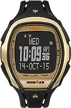 Timex Ironman Sleek 150 | Gold Dial Black Strap | Sport Watch TW5M05900