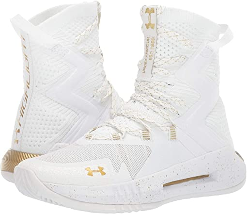 White/White/Metallic Gold