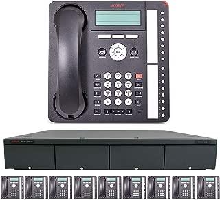 Avaya IP Office Phone System: Essential Digital Edition - & 1 Year of Free Telco Depot Dialtone Service (10 Phone Bundle)