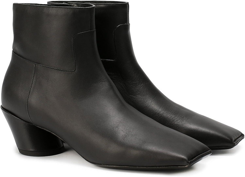 Balenciaga Women's Calf Leather Ankle Boots