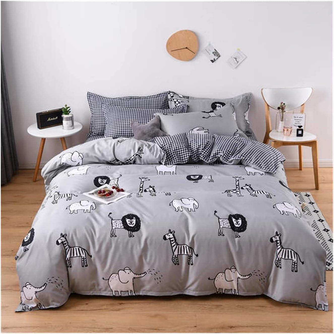 LSDJ Ranking TOP2 QMDSH Home Textile Girl Max 60% OFF Bedding Set Duvet Peach Cover Pink