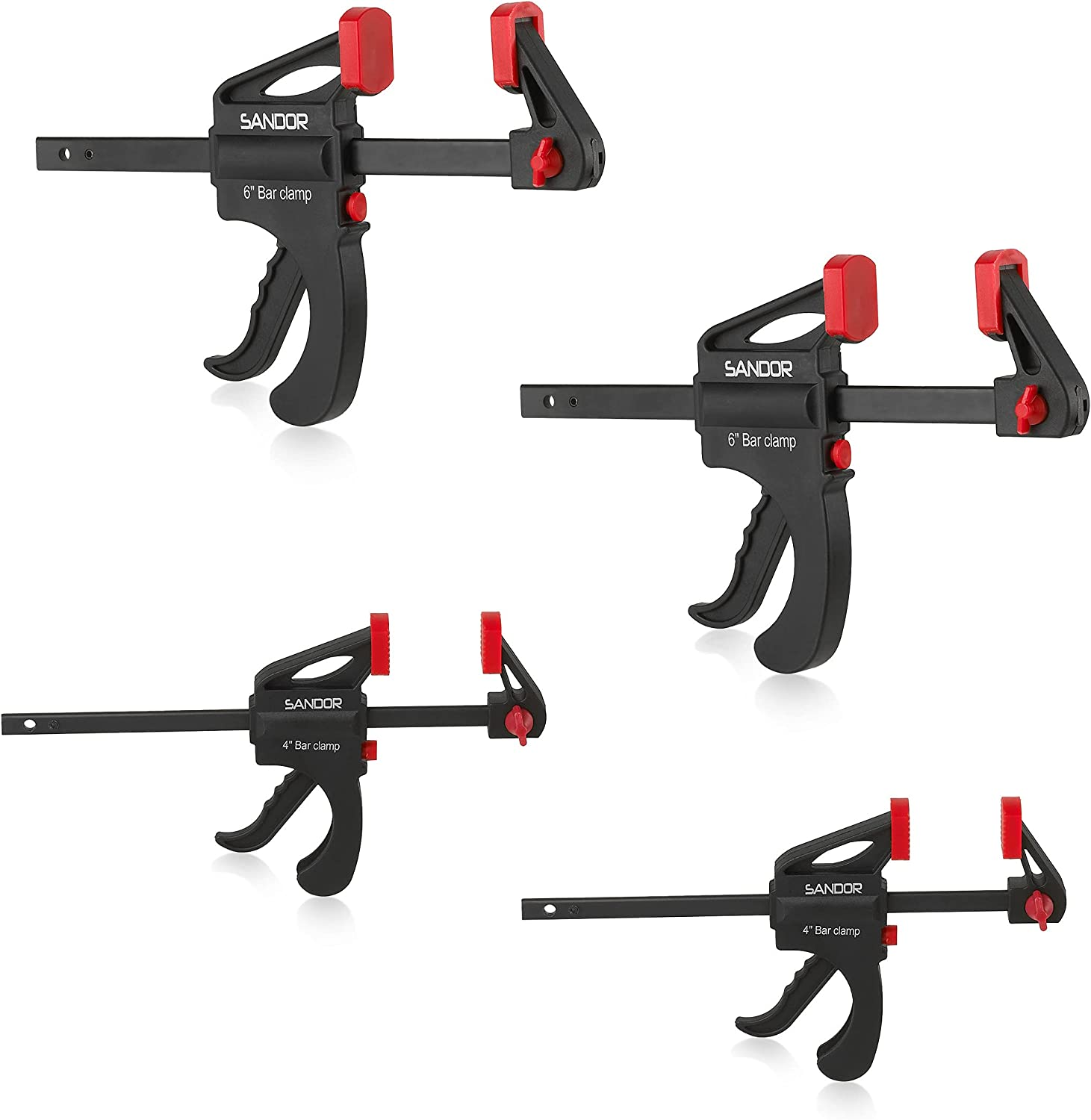 Quick Grip Clamps for Ranking TOP16 Woodworking - 4 4-Inch Set of 2 and Milwaukee Mall